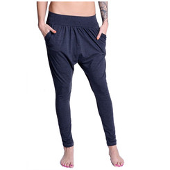 Lazzzy ® COMFY Pants - Graphite / Pink S