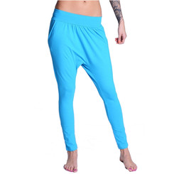 Lazzzy ® COMFY Pants - Torquoise / Pink M