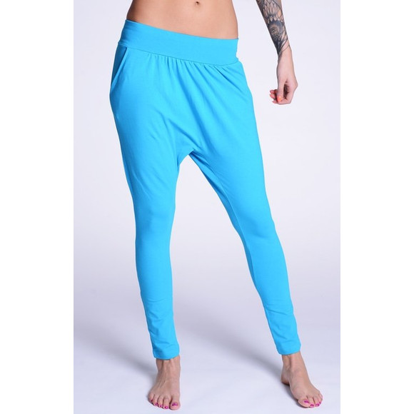 Lazzzy ® COMFY Pants - Torquoise / Pink S