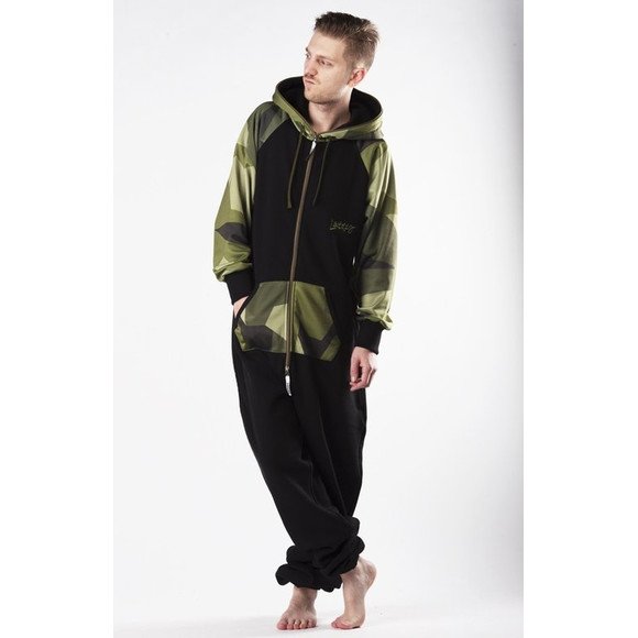 Lazzzy ® LIMITED Black / Camo Green XS