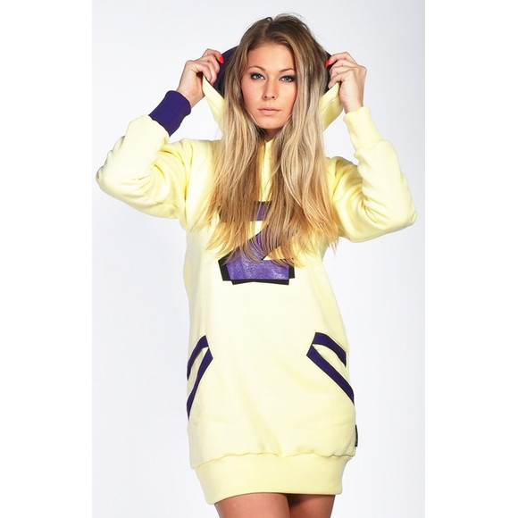 Lazzzy ® ZET Sweat - Hoodie Sweatshirt Vanilla