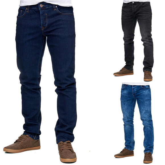 Reslad Herren Jeans Slim Fit Basic RS-2063