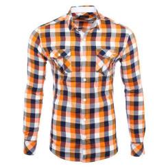 Reslad Herren Hemd Orlando RS-7060 Orange XL
