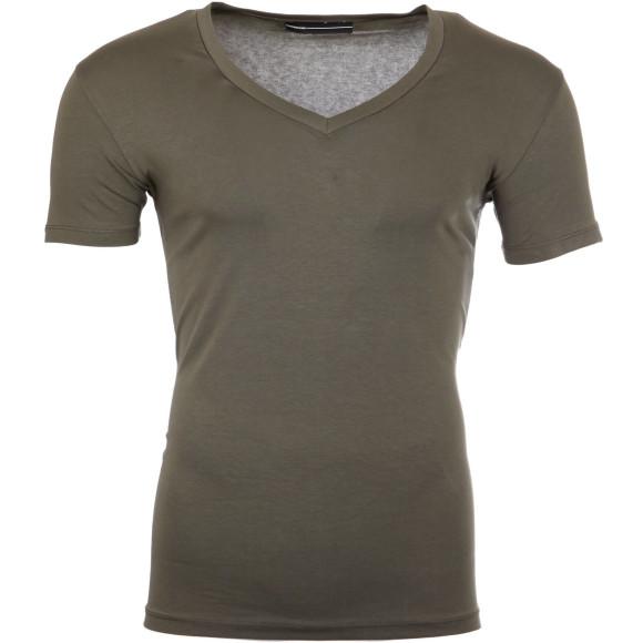 Reslad T-Shirt V-Neck Uni RS-5052 Khaki 17100 S