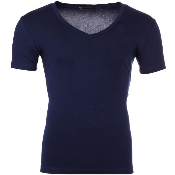 Reslad T-Shirt V-Neck Uni RS-5052 Navyblau 17100 XL