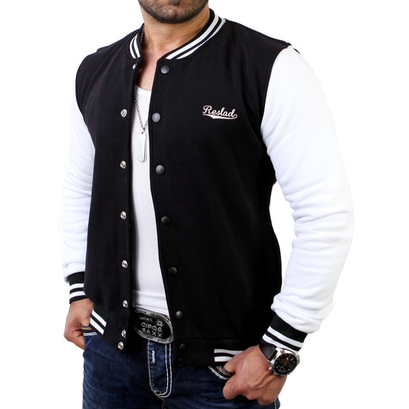 Reslad Herren Jacke Authentic Collegejacke RS-1150...