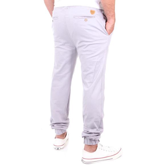 Reslad Jogg-Chino Herren-Hose Harem Jogging-Chinohose RS-2055 Grau W32