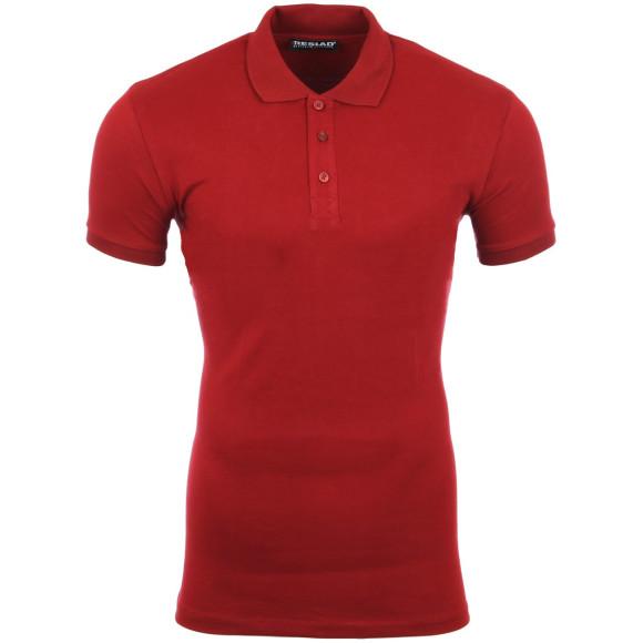 Reslad Poloshirt Herren Basic Slim Fit Kurzarm Pique...