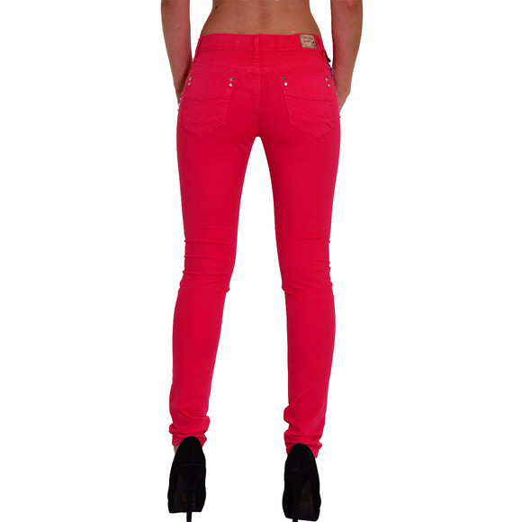 Redbridge Damen Chino Hose ROT RBW 3009  W27 L32