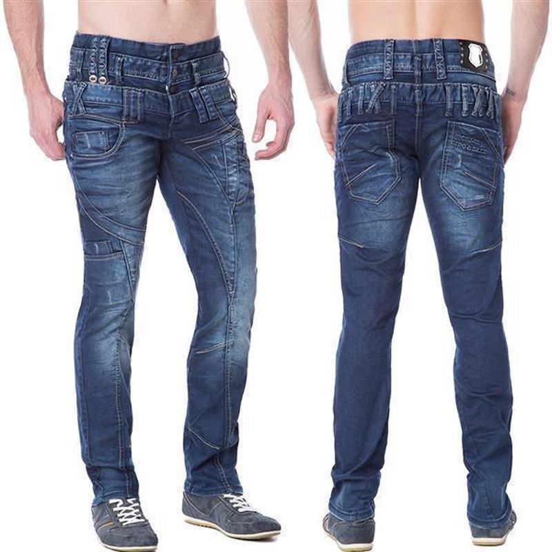 CIPO /& BAXX C-1160 Men // Herren Jeans Hose Regular Fit NEU dicke Naht