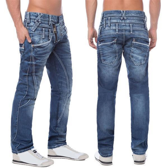 Cipo & Baxx Herren Denim Jeans C-1199