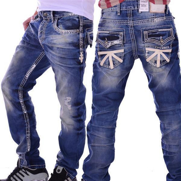 Cipo & Baxx CD 149 Herren Jeans Denim blau blue...