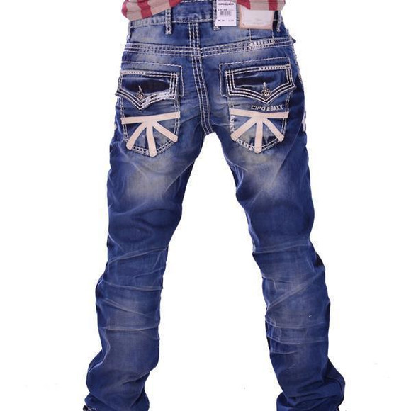 Cipo & Baxx Herren Jeans Denim  CD149 W38L32