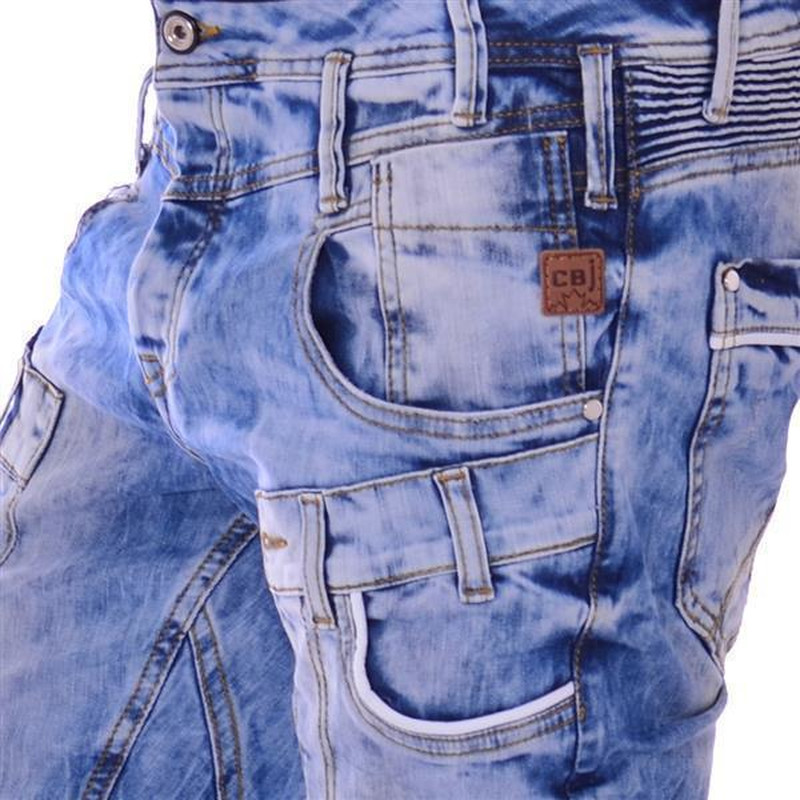 cipo baxx herren coole denim jeans hose slim leg jeanshose blau blue cd179 angesagte. Black Bedroom Furniture Sets. Home Design Ideas