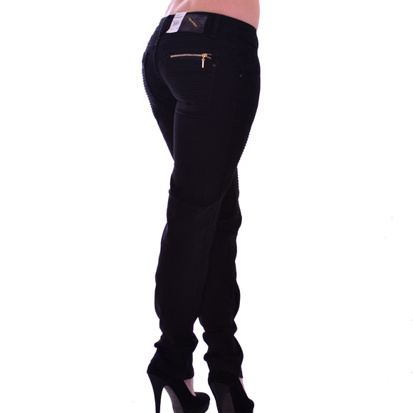Cipo & Baxx Damen Jeans  BLACK WD167A