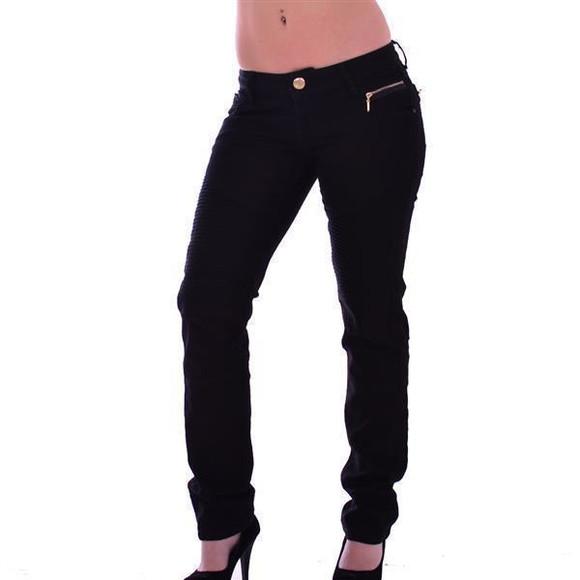 Cipo & Baxx Damen Jeans  BLACK WD167A W30 L32