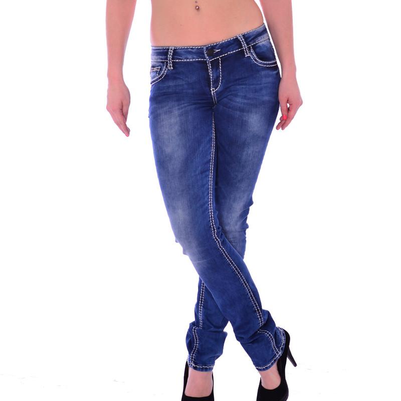 cipo baxx damen stretch jeans blau blue cbw 658. Black Bedroom Furniture Sets. Home Design Ideas