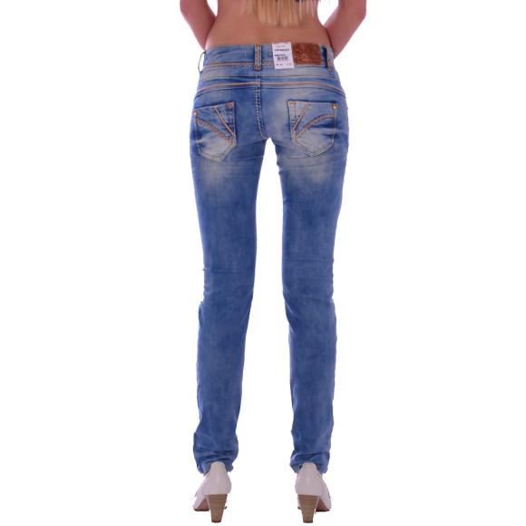 Cipo & Baxx CBW 347A Damen Frauen Jeans Hose Jeanshose Denim blue blau hellblau W27 L32