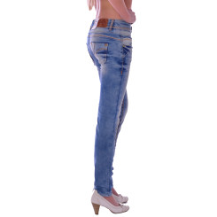 Cipo & Baxx CBW 347A Damen Frauen Jeans Hose Jeanshose Denim blue blau hellblau W28 L34