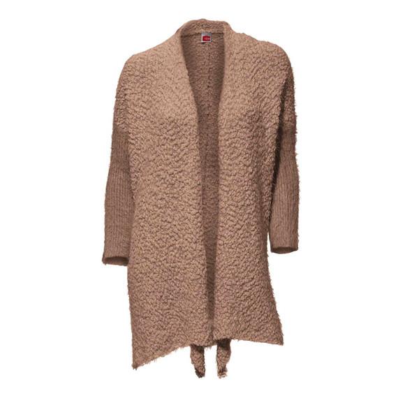 Kuschel-Strickmantel, camel von Travel Couture by Heine
