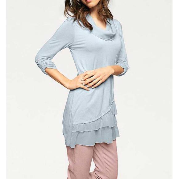 Shirt 2-in-1, hellblau von Linea Tesini