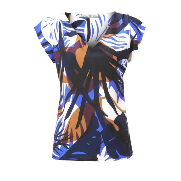 Blusenshirt, blau-bunt von Ashley Brooke
