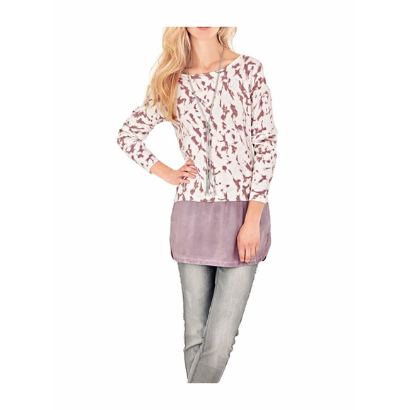 2-in-1 Pullover, rosé von Heine - Best Connections