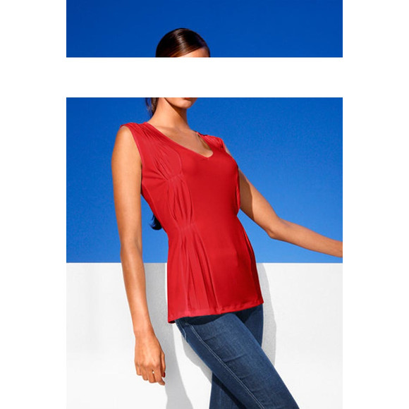Bodyforming-Shirt, rot von CLASS INTERNATIONAL