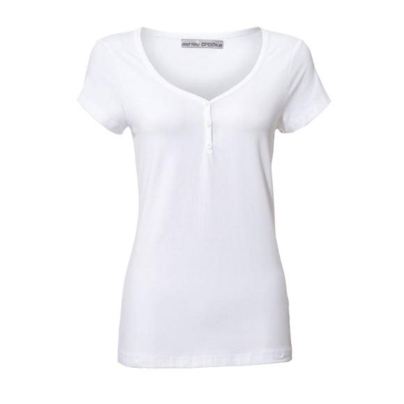 Shirt, weiß von Ashley Brooke
