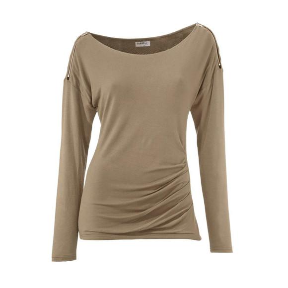Bodyforming-Shirt, camel von CLASS INTERNATIONAL