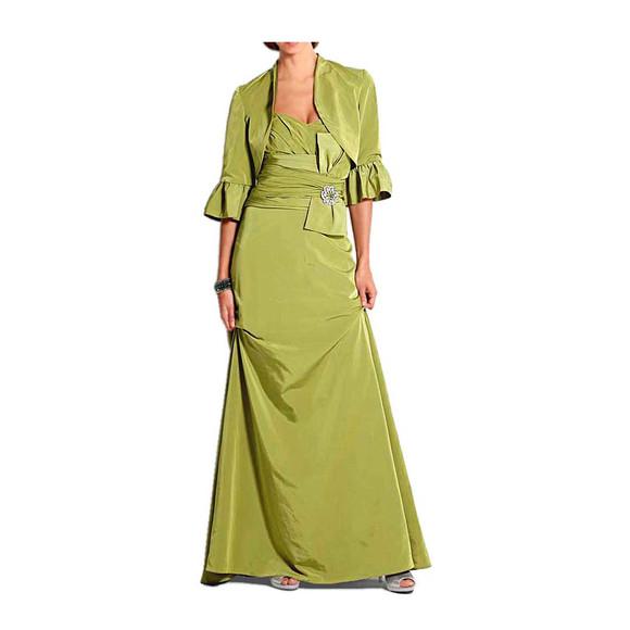 Abendkleid mit Bolero, grün von Heine