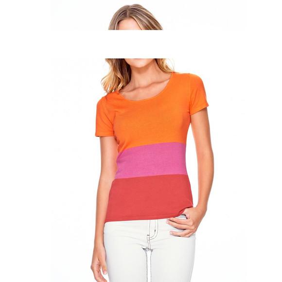 Pullover, orange-pink-koralle von Heine - Best Connections