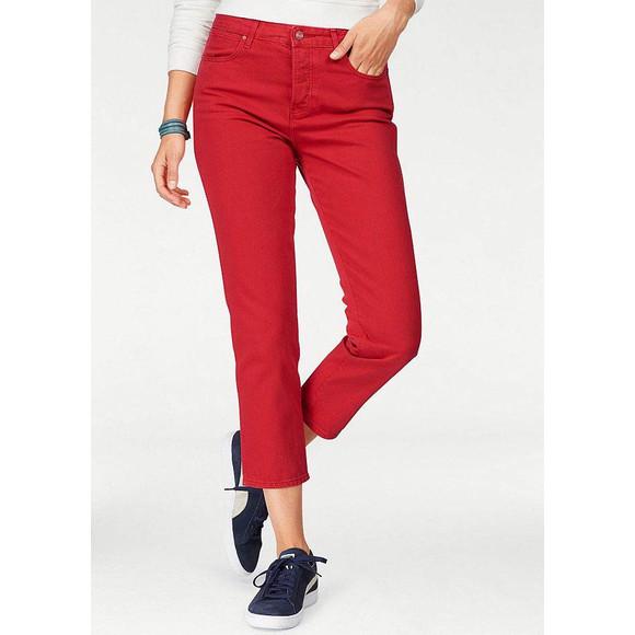 7/8-Jeans, rot von Wrangler