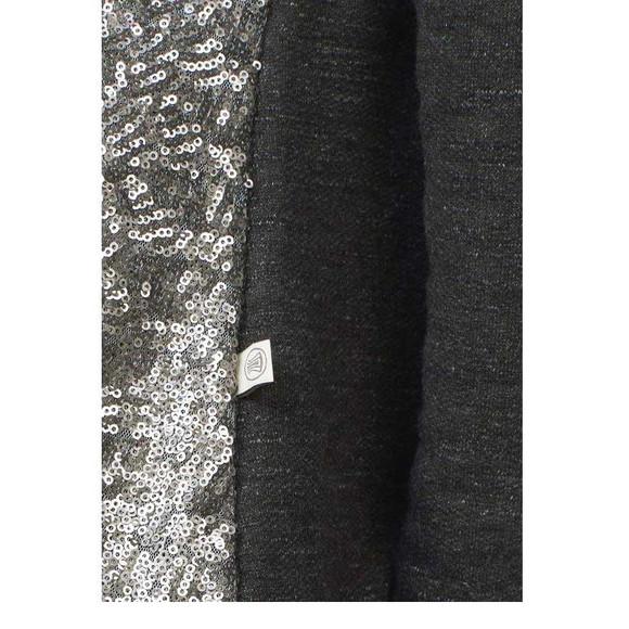 Sweatshirt, anthrazit-silber von Herrlicher