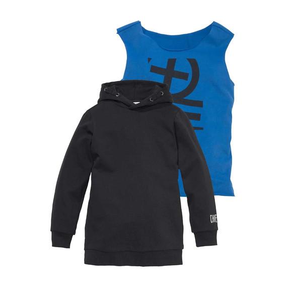 Kinder-2-Tlg.-Set, schwarz-blau von Chiemsee