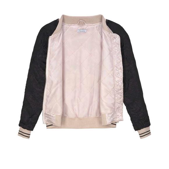 Damen-Blouson, rosé-schwarz von Aniston