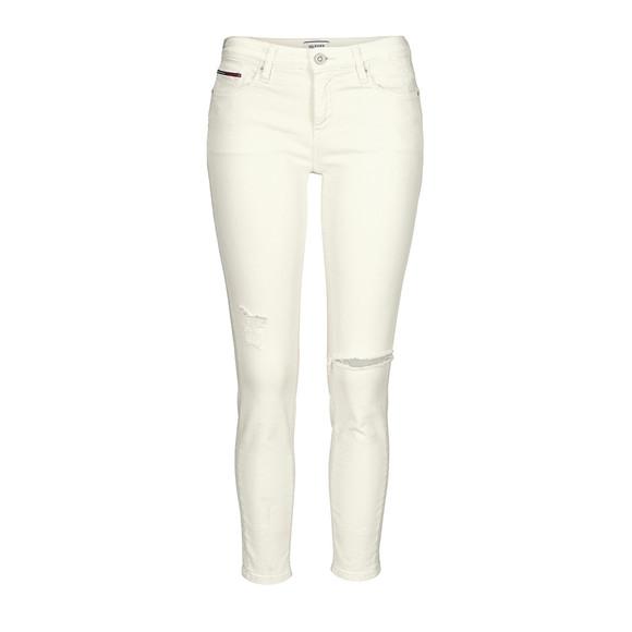 7/8-Jeans NORA, cremeweiß von TOMMY HILFIGER DENIM