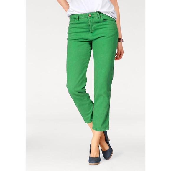 7/8-Jeans, grün von Wrangler