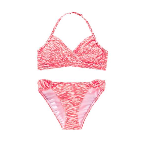 Kinder-Bikini, lobster-weiß von Venice Beach