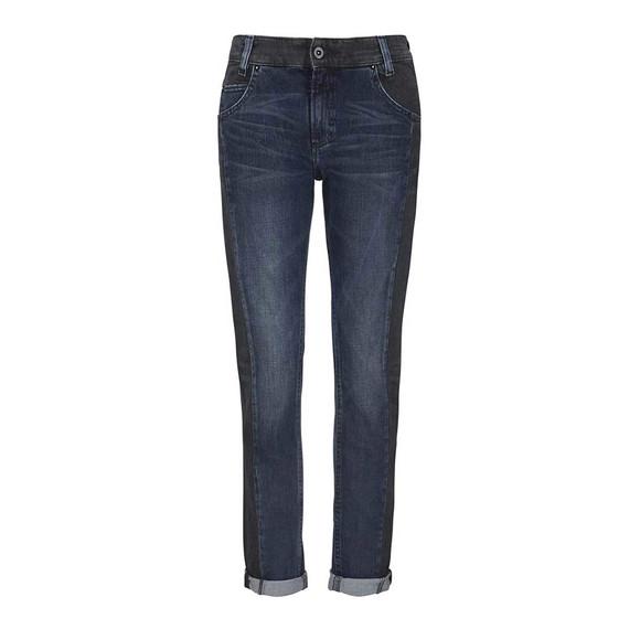 Boyfriend-Jeans, blau-schwarz, 32 inch von Marc O´Polo