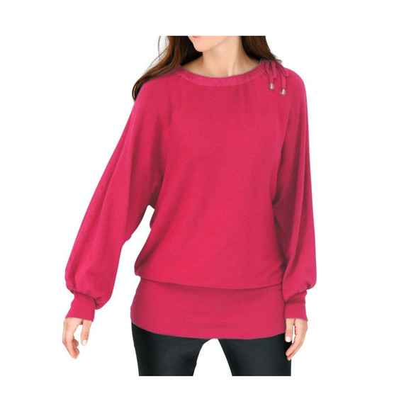 Pullover, pink von Ashley Brooke Grösse 44