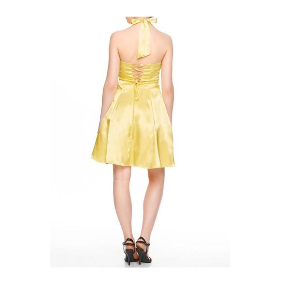 Cocktailkleid M Petticoat Gelb Von Ashley Brooke Event Grosse 34
