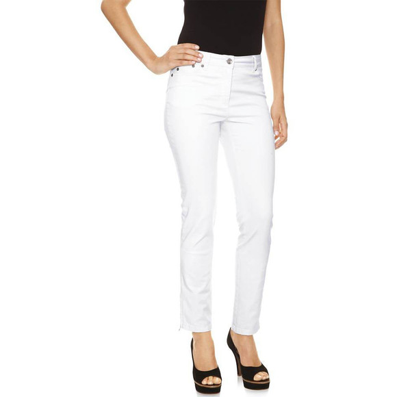 Push-Up-Jeans, weiß von CLASS INTERNATIONAL Grösse 36