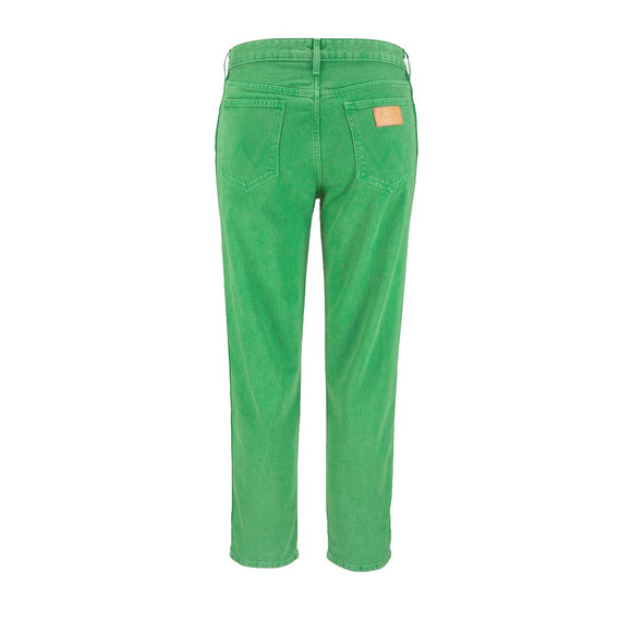 7/8-Jeans, grün von Wrangler Grösse 28