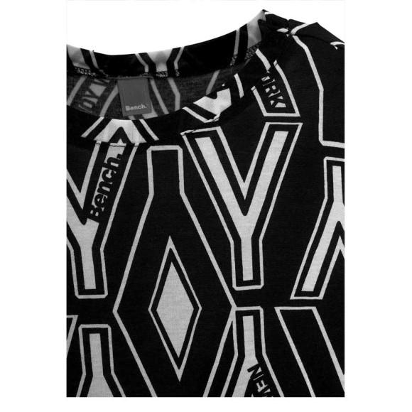 Kindershirt, schwarz-weiß von BENCH Grösse 164/170