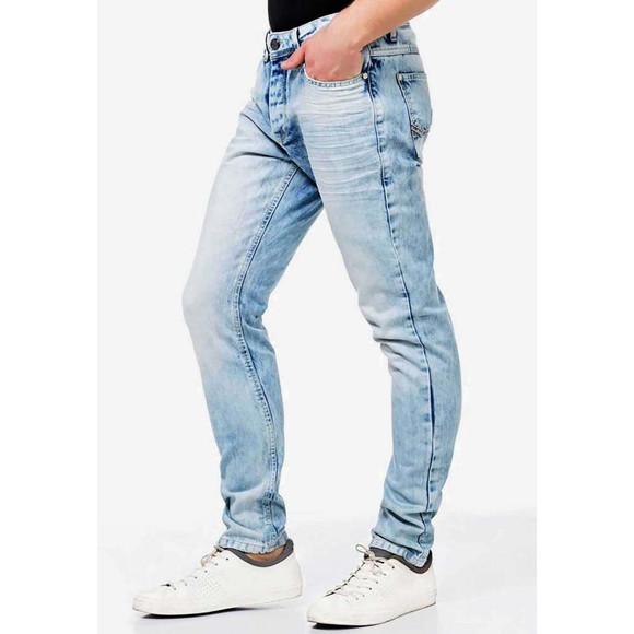 Cipo & Baxx CD319X Jeans NICED mit schmalem Saum