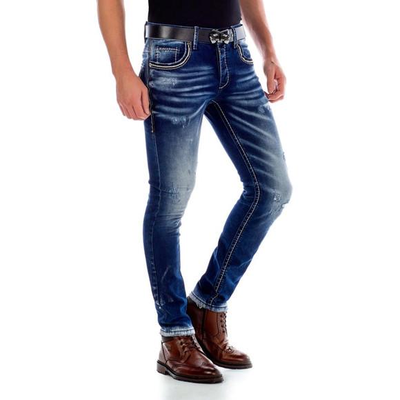 Cipo & Baxx CD485 Jeans APEX im Worn Washed Look W38...