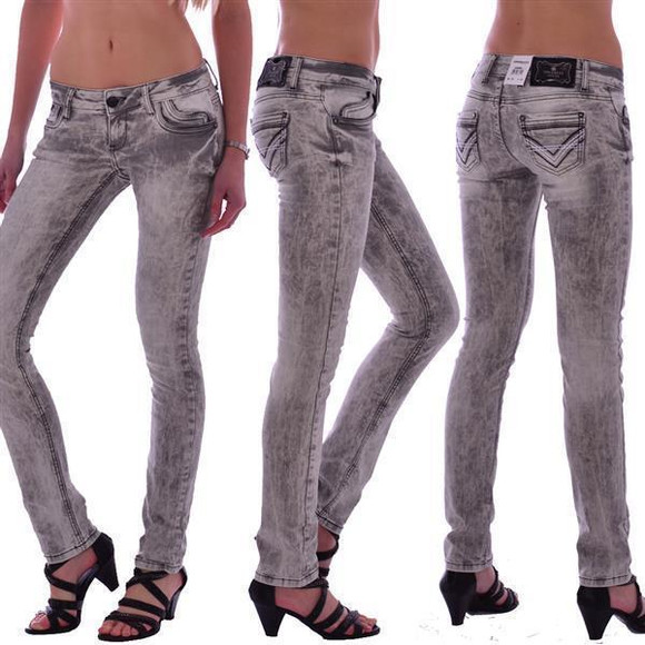 Cipo & Baxx C 46006 Damen Frauen Women Jeans Hose...